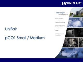 Uniflair  pCO1 Small / Medium