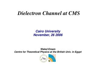 Dielectron Channel at CMS