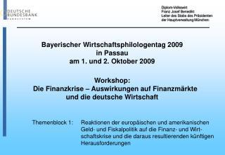Diplom-Volkswirt Franz Josef Benedikt Leiter des Stabs des Präsidenten der Hauptverwaltung München