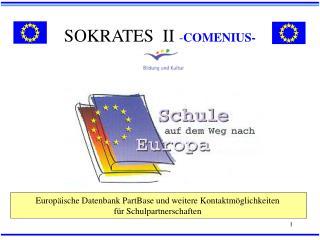 SOKRATES  II  - COMENIUS-