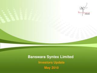 Banswara Syntex Limited