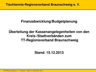 Tischtennis-Regionsverband Braunschweig e. V.