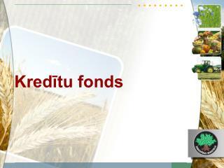 Kredītu fonds