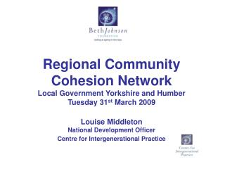 Regional Community Cohesion Network Local Government Yorkshire and Humber