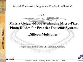Seventh Framework Programme I3 – HadronPhysics3