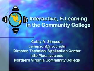 Interactive, E-Learning in the Community College