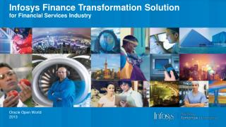 Infosys Finance Transformation Solution  for Financial Services Industry