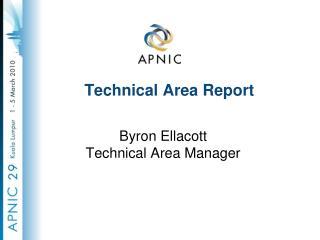 Technical Area Report