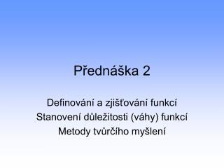 P?edn�ka 2