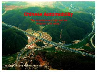 Chinese Automobility