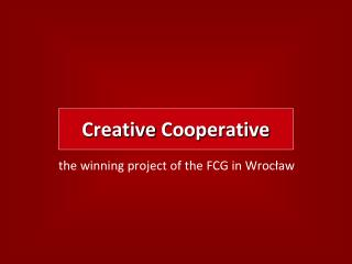 Creative Cooperative