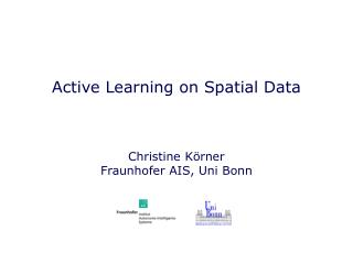 Active Learning on Spatial Data