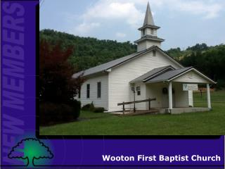 Wooton First Baptist Church