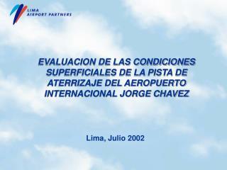 Lima, J ulio  2002