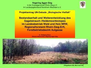 Hegering Agger-Sieg in der Kreisjägerschaft Rhein-Sieg e.V.