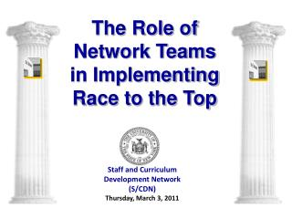 Staff and Curriculum Development Network S