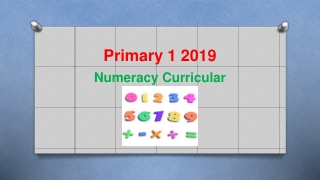 The Numeracy Challenge