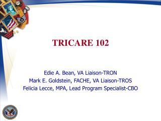 TRICARE 102