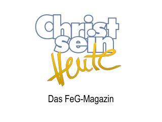 Das FeG-Magazin