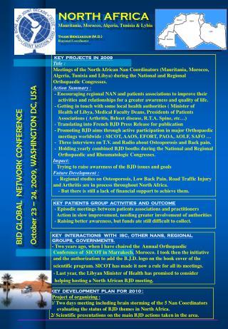 BJD GLOBAL  NETWORK CONFERENCE October 23 – 24, 2009, WASHINGTON DC, USA