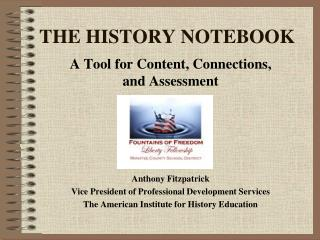 THE HISTORY NOTEBOOK