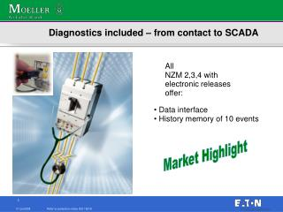 Diagnostics included – from contact to SCADA