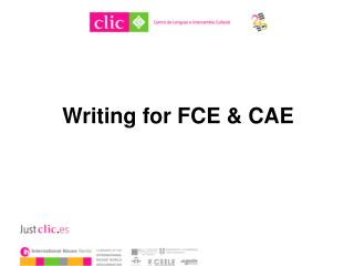 Writing for FCE & CAE