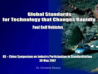 US – China Symposium on Industry Participation in Standardization  30 May 2007