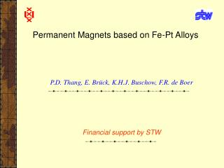 Permanent Magnets based on Fe-Pt Alloys