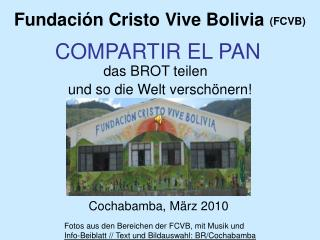 Fundación Cristo Vive Bolivia