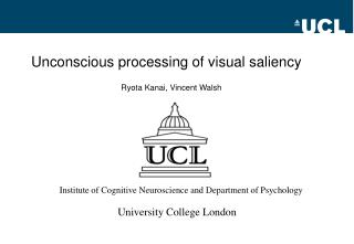 Unconscious processing of visual saliency