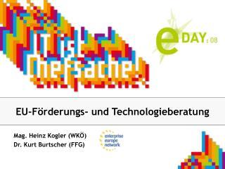 EU-Förderungs- und Technologieberatung