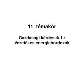 11. témakör