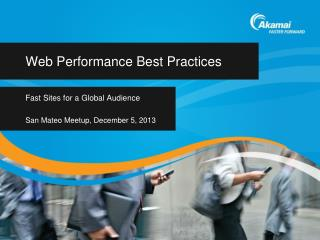 Web Performance Best  Practices