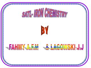 SATL- IRON CHEMISTRY