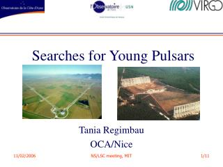 Searches for Young Pulsars