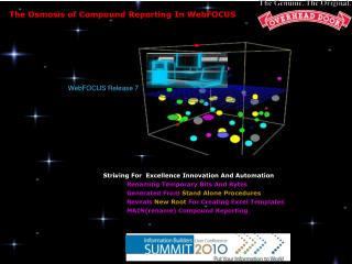 The Osmosis of Compound Reporting In WebFOCUS