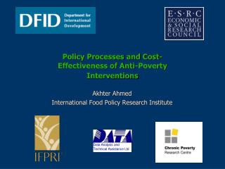 Policy Processes and Cost-Effectiveness of Anti-Poverty Interventions
