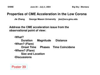 Properties of CME Acceleration in the Low Corona