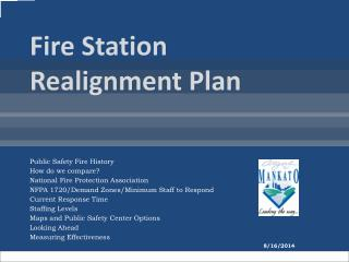 Fire Station Realignment Plan