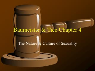 Baumeister & Tice Chapter 4