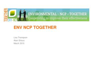 ENV NCP TOGETHER