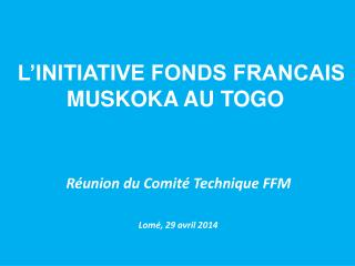 Réunion du Comité Technique FFM
