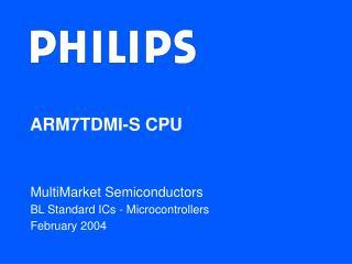 ARM7TDMI-S CPU