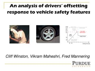 An analysis of drivers' offsetting response to vehicle safety features