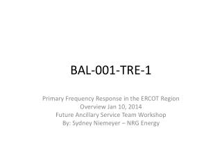 BAL-001-TRE-1