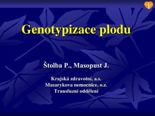 Genotypizace plodu