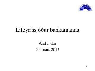 Lífeyrissjóður bankamanna