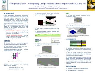 Testing Fidelity of DTI Tractography Using Simulated Fiber: Comparison of FACT and FMT