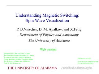 Understanding Magnetic Switching: Spin Wave Visualization